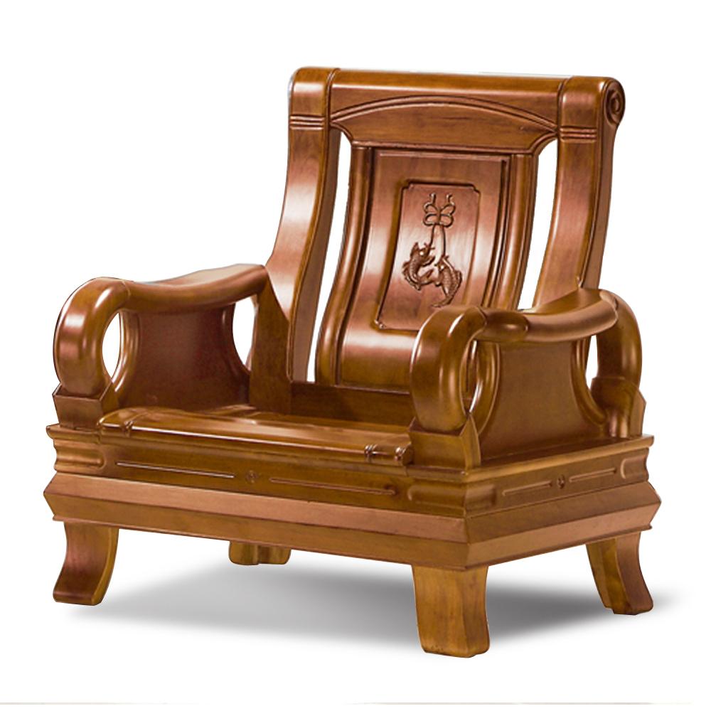 愛比家具 莫谷實木單人椅