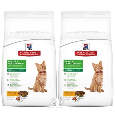 Hill's 希爾思 幼貓 均衡發育配方 乾糧 2公斤 X 2包