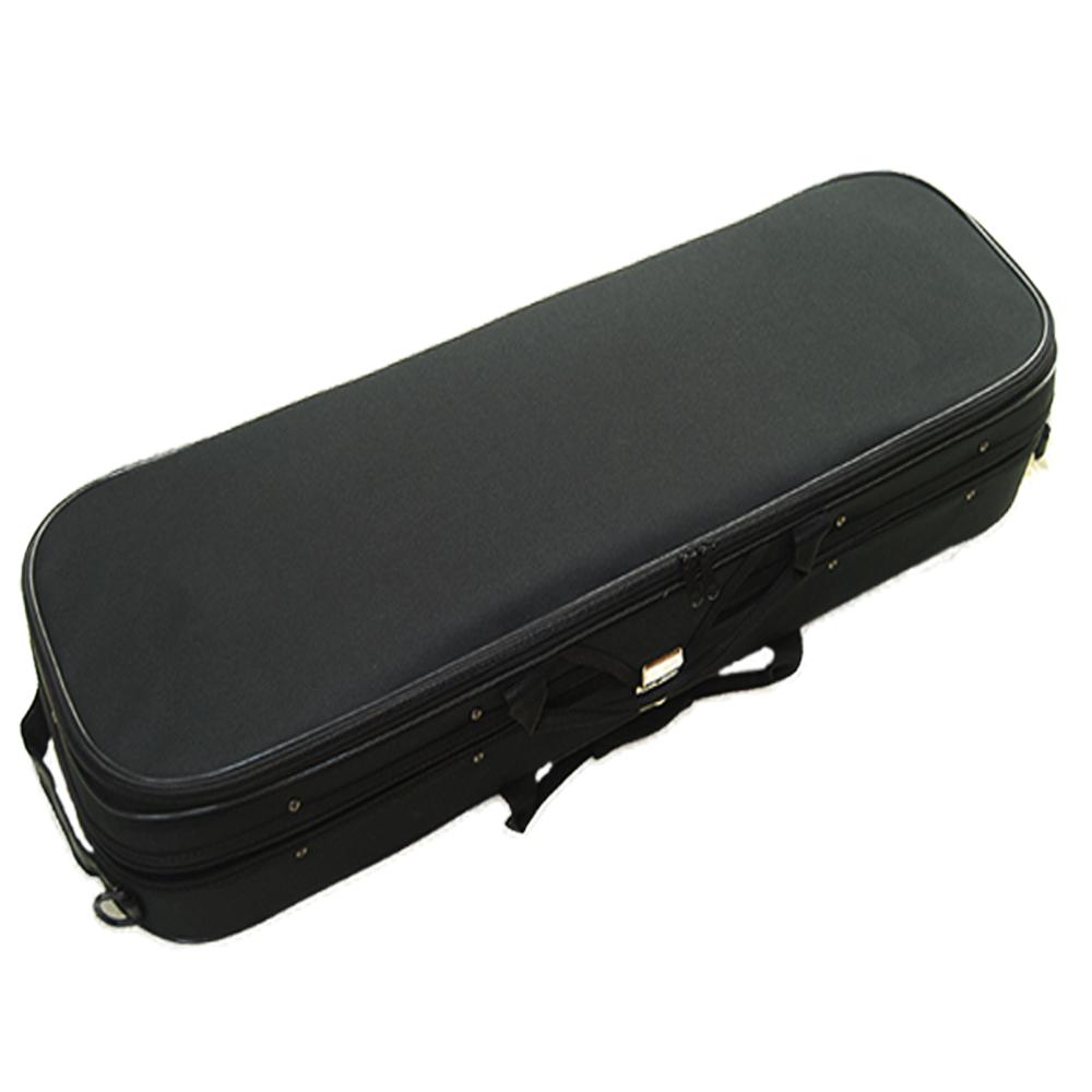 高級輕體四方盒,含溼度計,雙琴弓,置肩墊,雙肩背/提,鐵鎖片,小提琴盒,琴盒