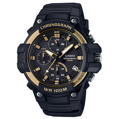 CASIO 多功能計時運動腕錶-MCW-110H-9AVDF-45mm