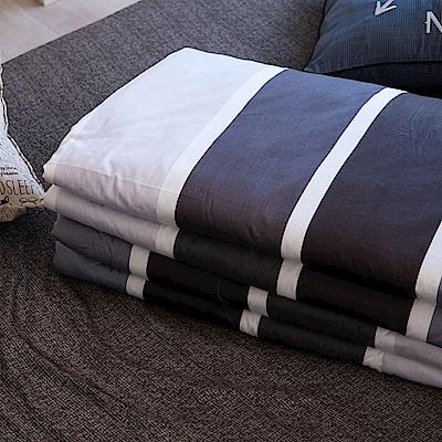 OLIVIA  丹尼爾 灰  5尺X6尺 100%精梳純棉夏日涼被