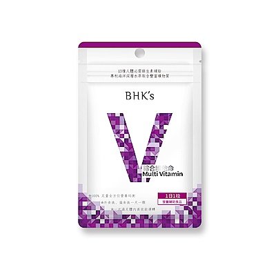 BHK's—綜合維他命(30顆/包)