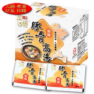 台糖安心豚 豚骨高湯6盒(10小包/盒;18毫升/包)