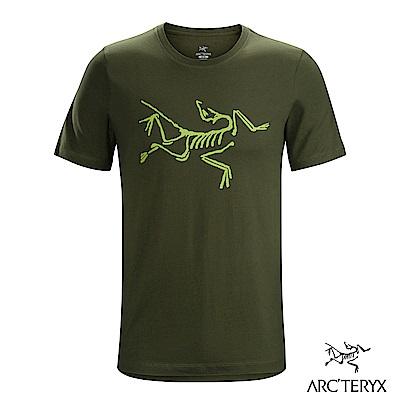 Arcteryx 始祖鳥 24系列 男 Archaeopteryx 短袖T恤 綠