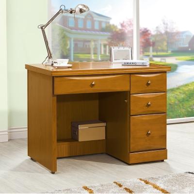Boden-堤雅3.5尺實木辦公桌/書桌-106x64x82cm