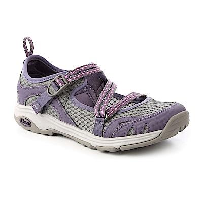 美國Chaco。女 冒險運動水路鞋CH-ECW04HC72 (基多紫)