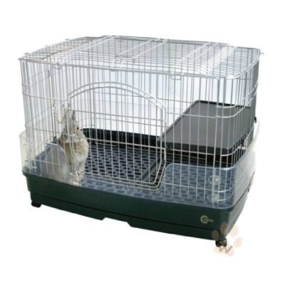 日本Marukan 新款抽屜式兔籠MR306 1入