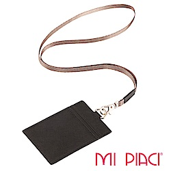 MI PIACI-證件套/識別證套(皮款)-直式-黑色1086304