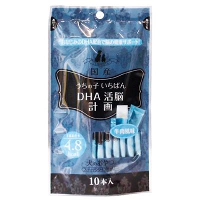 傑利Jelly果凍條-DHA活腦計劃 (10gX10條/包)