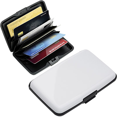 REFLECTS RFID硬殼防護證件卡片盒(白)