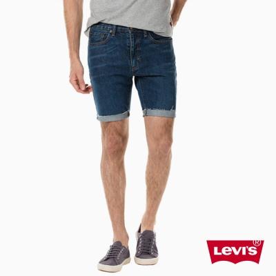 Levis 男款 短褲 505C 中腰合身直筒 不收邊