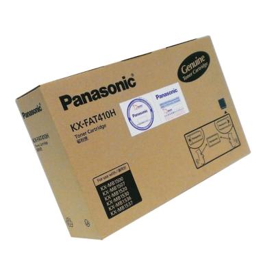 Panasonic國際牌 原廠雷射碳粉匣KX-FAT410H (碳粉+滾筒)
