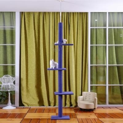 dyy》超長大型貓爬樹3way頂天豪華貓跳台