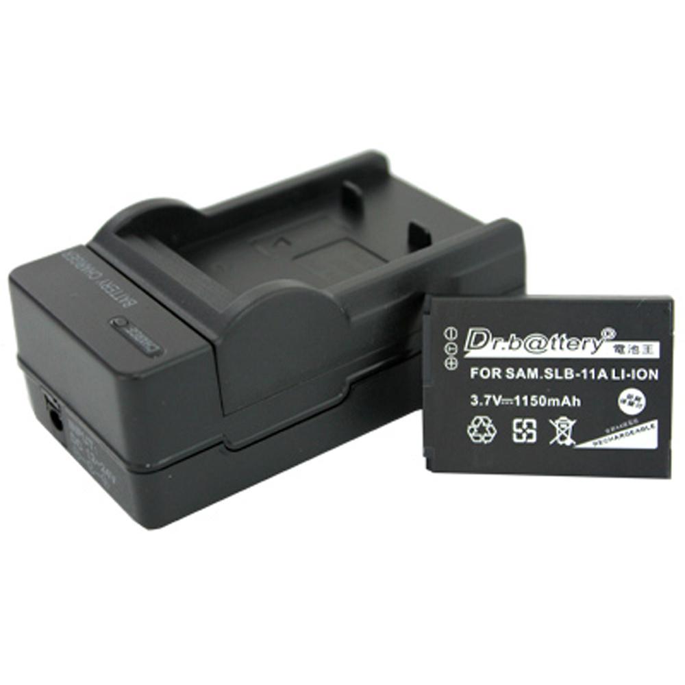 電池王 SAMSUNG SLB-11A 高容量鋰電池+充電器組