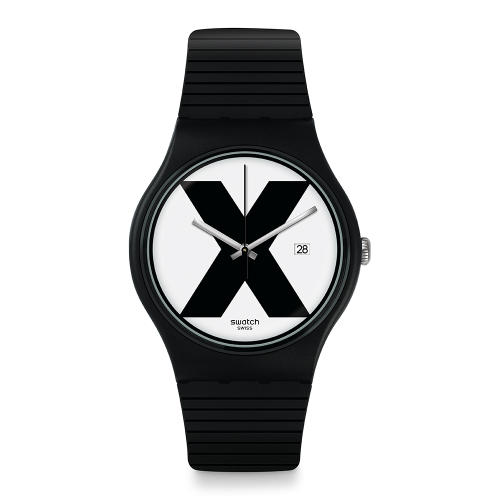 Swatch The X-Vibe XX-RATED BLACK 黑色X手錶