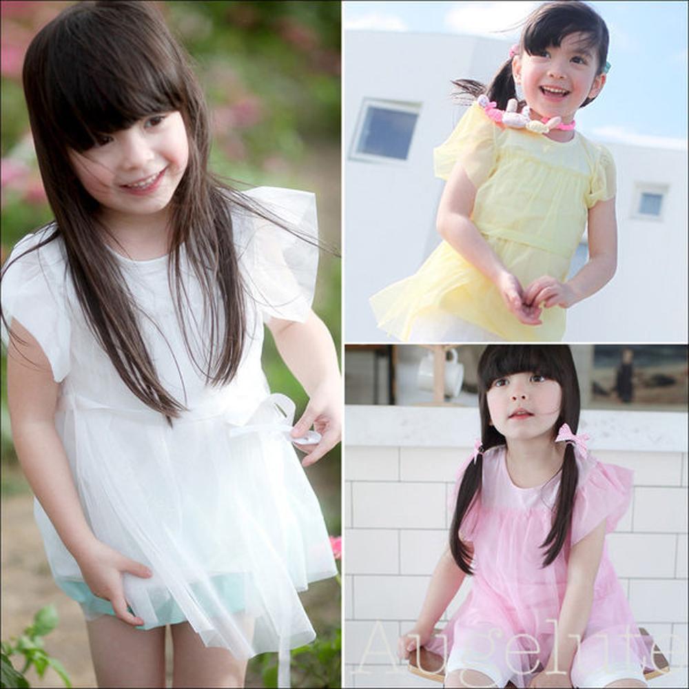 【baby童衣】女童紗紗連衣裙 31032(共三色)