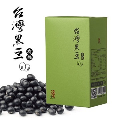 台灣源味本舖 有機黑豆(400g)