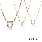 A-LUXE 亞立詩字母10K鑽石項鍊26款任選2800