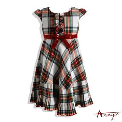 Annys時尚訂製布亮片蝴蝶結魚尾洋裝*5220紅