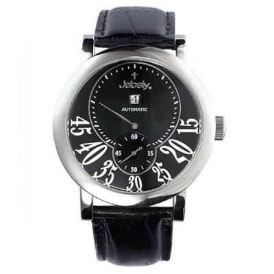 【Jebely】聖莫里茲塔系列三針分離機械錶(黑)