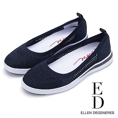 ED Ellen DeGeneres 輕量網面拼接休閒鞋-籃色