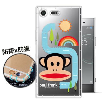大嘴猴正版授權 SONY Xperia XZ Premium 原創風格 氣墊手機...