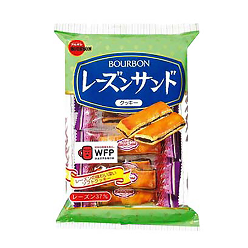 Bourbon 北日本葡萄夾心餅(86.4g)