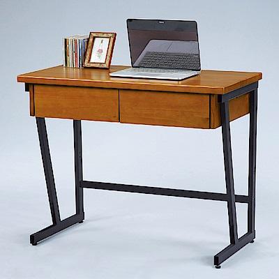 AS-奧爾全實木3尺書桌-90x45x76cm