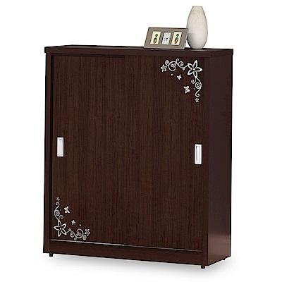 時尚屋 莉蒂亞3.5尺拉門鞋櫃 寬105x深39x高120cm