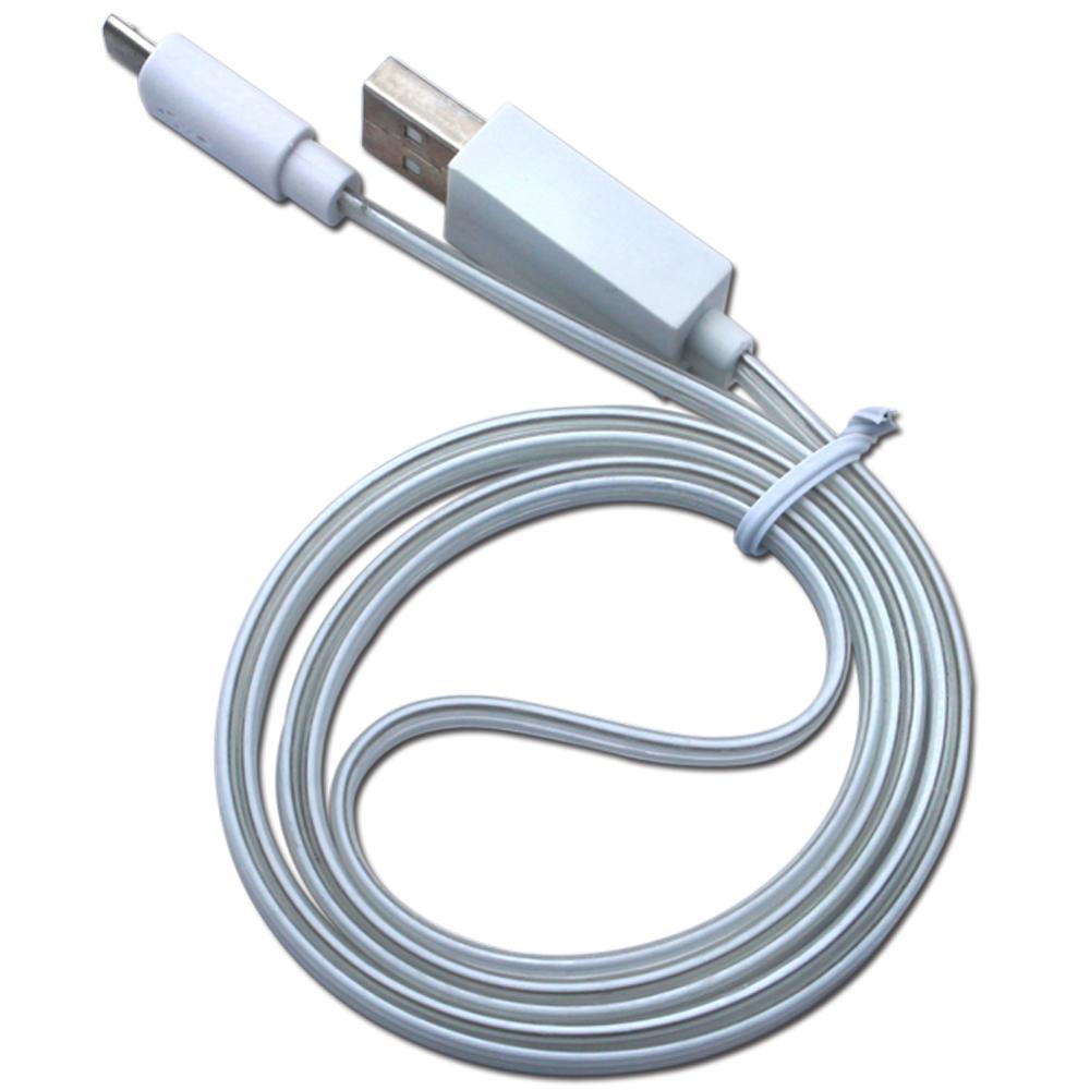 LineQ Micro USB傳輸充電LED發光線