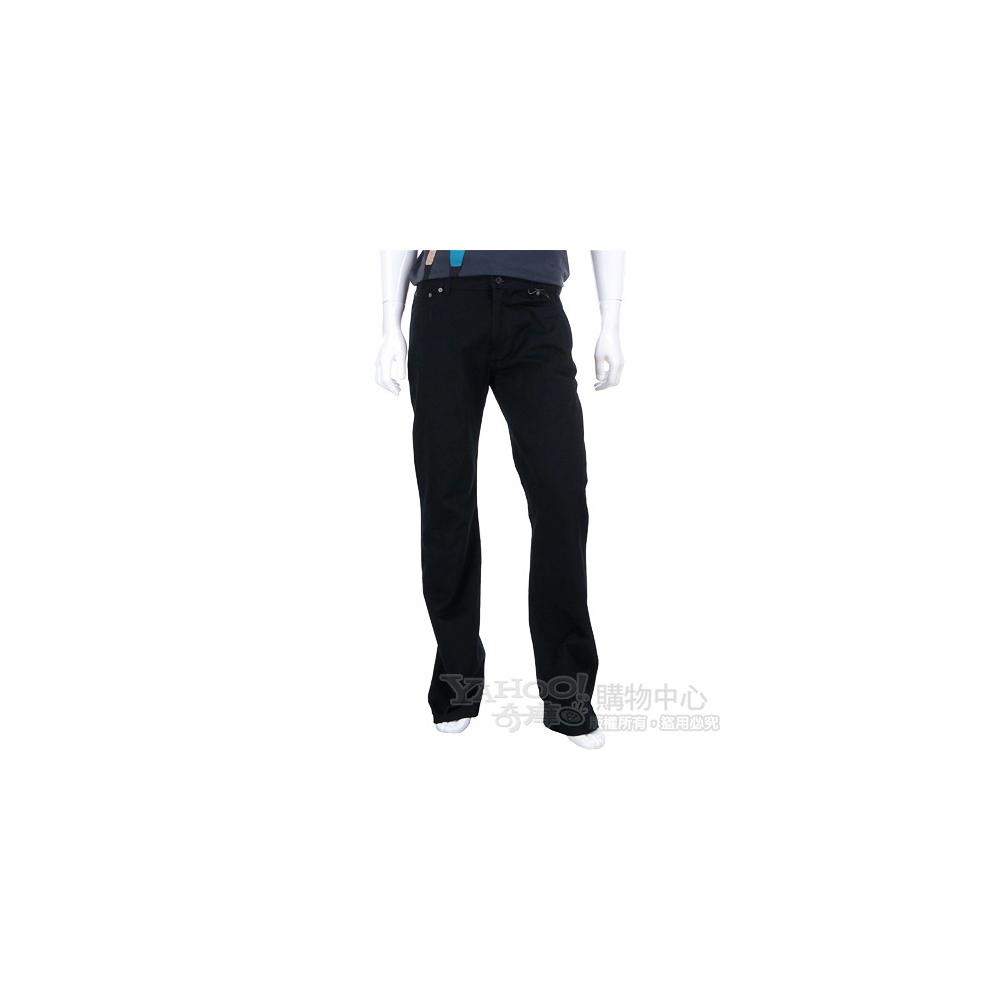 MOSCHINO 黑色銀釦飾休閒長褲