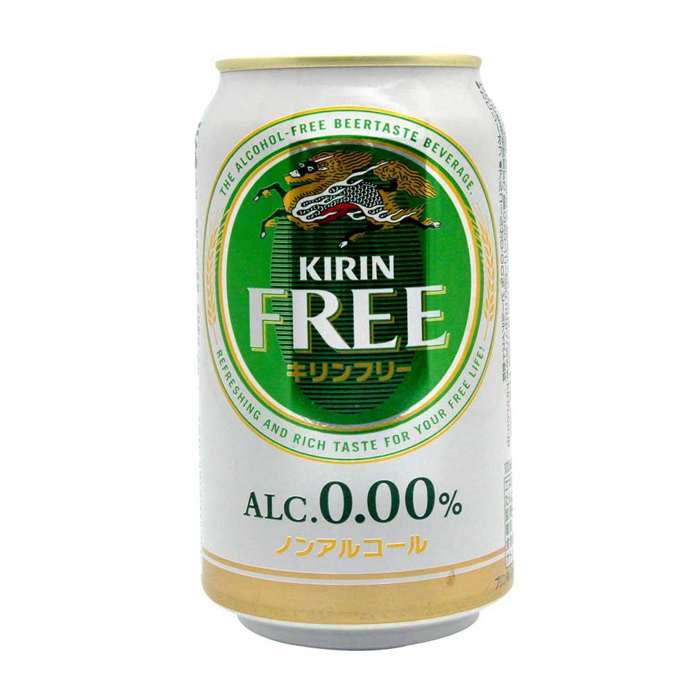 麒麟麥酒 麒麟無酒精飲料-free(350ml)