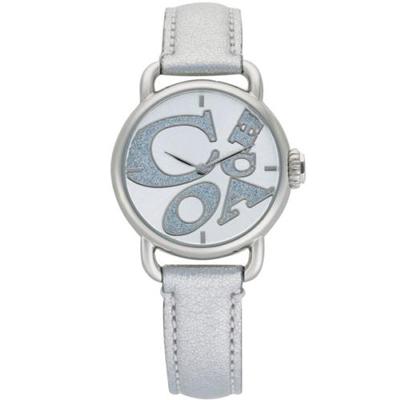 COACH-Hamptons-圓舞曲動感腕錶-銀色-30mm