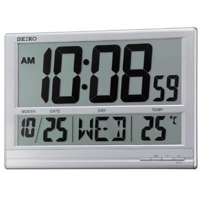 SEIKO 精工 座掛兩用 數位式電子掛鐘-38x26cm