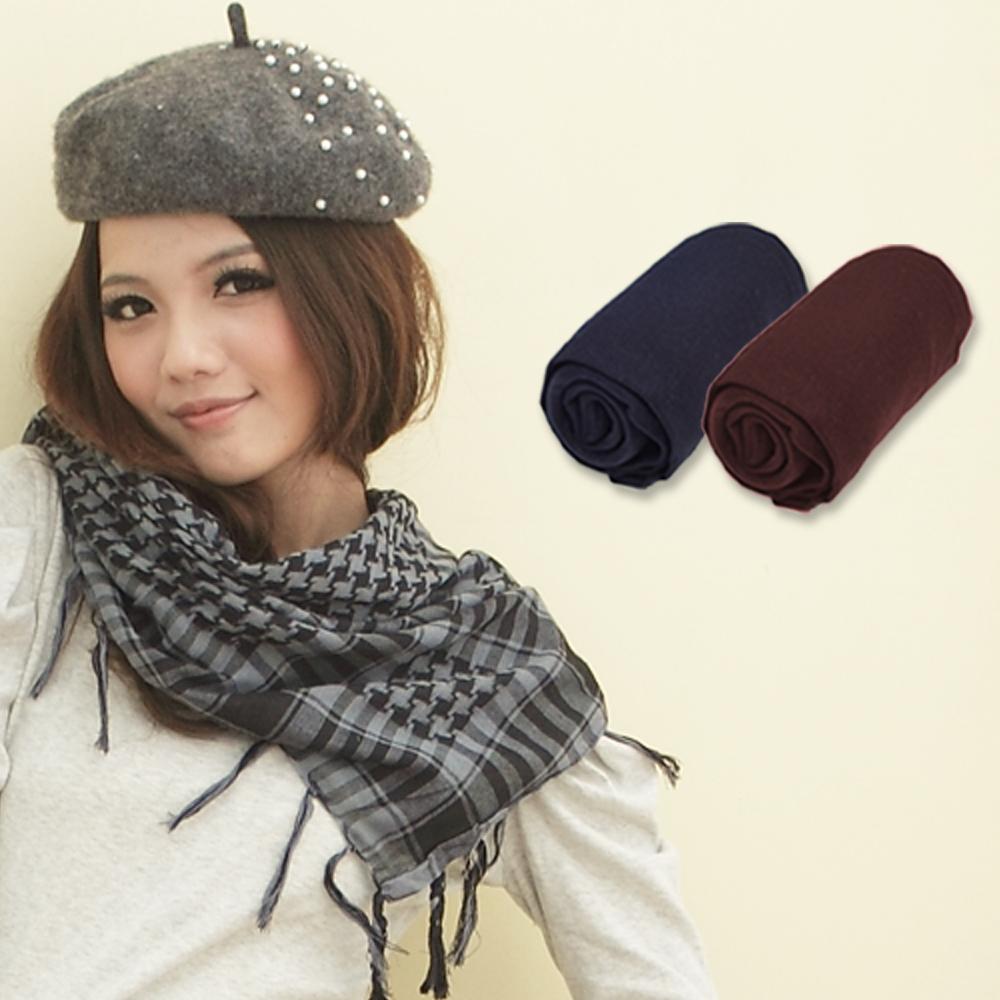 I-shi  冬季超強組合大放送 圍巾+彩襪(買2送1)
