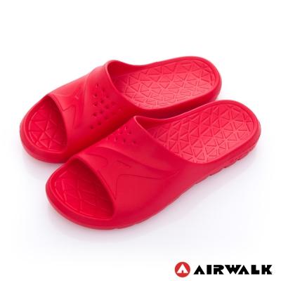 美國 AIRWALK 輕盈柔軟AJ拖鞋-紅色
