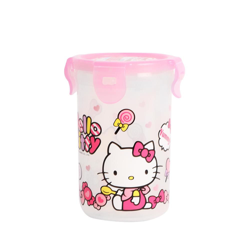 HELLO KITTY PP水杯350ML(圓筒型)(快)