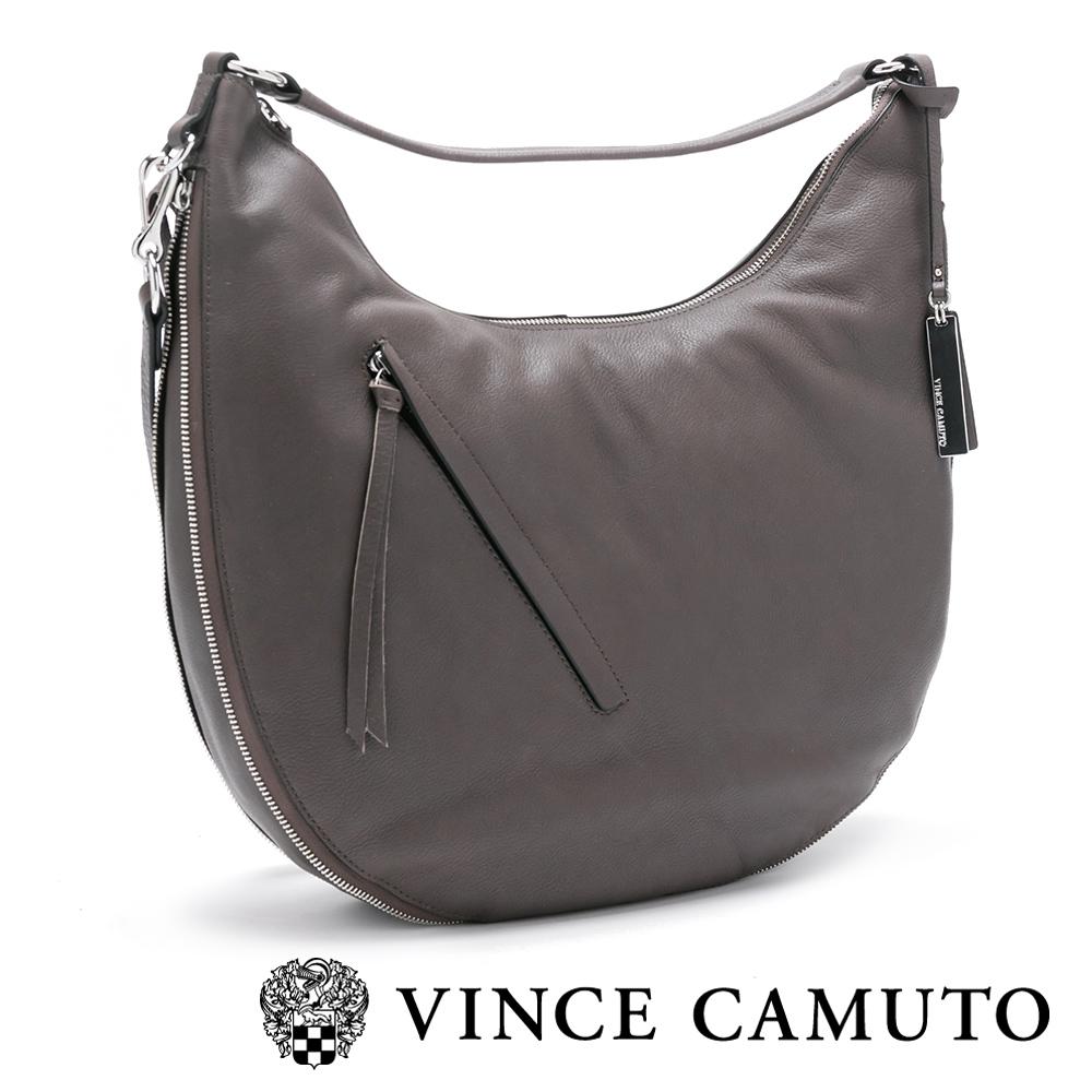 Vince Camuto 素面月型肩背手拿兩用包-灰色