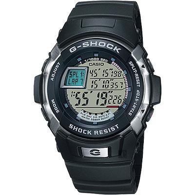 CASIO卡西歐 G-SHOCK 極限賽車腕錶-黑/52mm