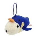 Kapibarasan 水豚君海洋便裝系列公仔吊飾。懷特小姐