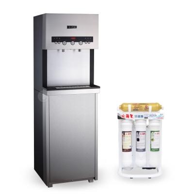 (下單登記送500起)水蘋果 WAQ7-3H 按鍵式冰溫熱三溫飲水機(搭配WA-505活礦機)