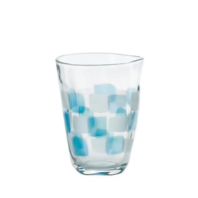 【ADERIA】日本進口格紋啤酒杯290ml