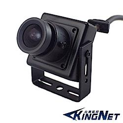 監視器攝影機 - KINGNET 1/3 高感度晶片 迷你微型針孔 有聲 攝像機 魚眼
