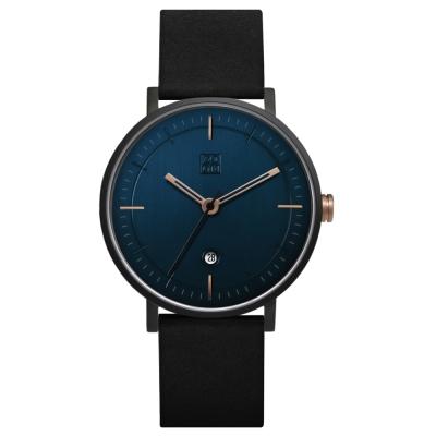 ZOOM STAGE 實踐者旅人腕錶-靛藍/42mm