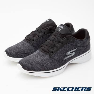 SKECHERS (女) 健走系列 GO Walk  4 - 14173BKW