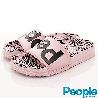 PEOPLE-LENNON SLIDE 04S-022粉紅棕梠-女