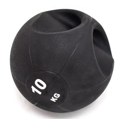 拉環橡膠重訓球10KG