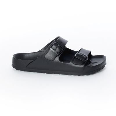 美國 AIRWALK 台灣製造超輕量休閒AB拖鞋-黑色
