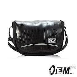 OEM - 製包工藝革命 低調簡約個性半月型減碳休閒包- 黑色