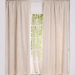 伊美居 - 聖伯多雙層遮光窗簾 135x210cm(2件)